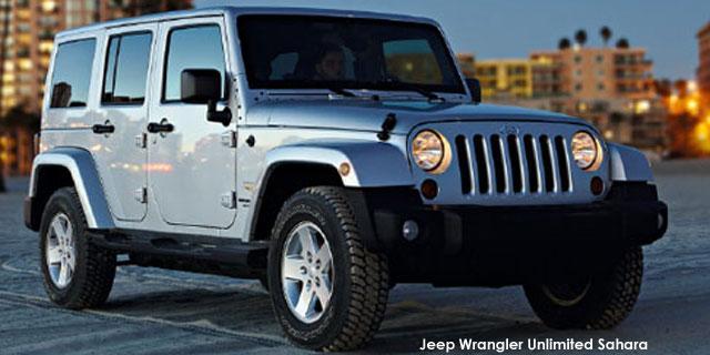 Jeep Wrangler Unlimited 28crd Sahara
