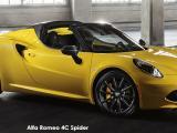 Alfa Romeo 4C Spider - Thumbnail 1