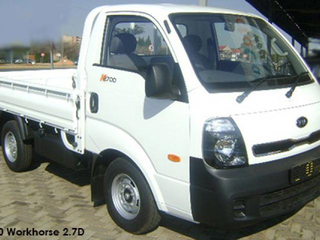 Kia K2700/K2500 2.7D workhorse tipper