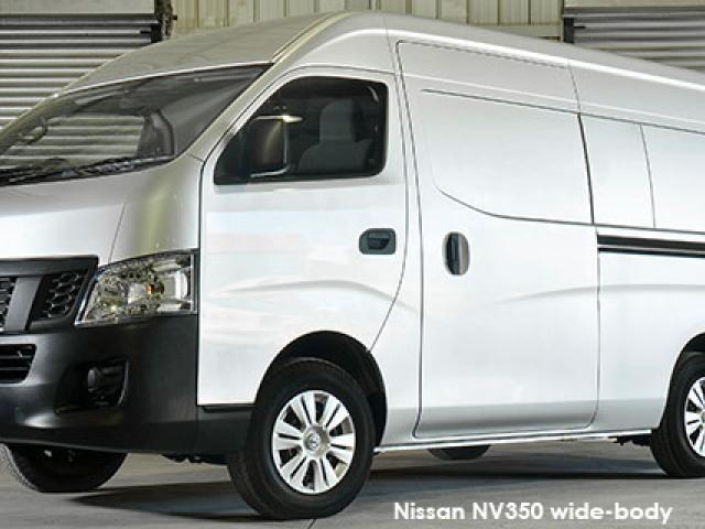 Nissan NV350 panel van wide-body 2.5i
