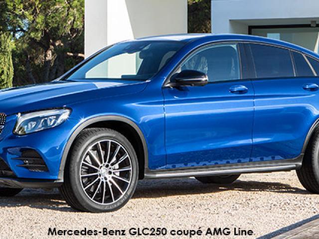 Mercedes-Benz GLC GLC220d coupe 4Matic AMG Line