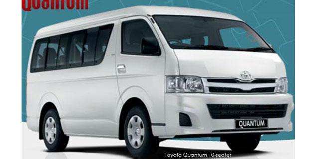 New Car Quotes | Toyota Quantum 2.5D-4D GL 10-seater bus