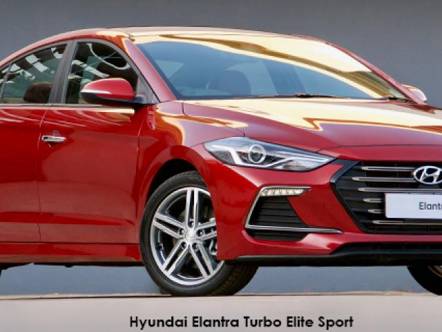 Hyundai Elantra 1.6 Turbo Elite Sport