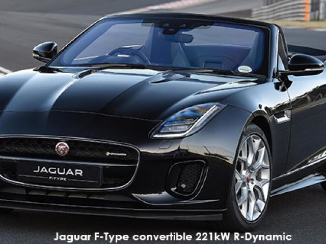 Jaguar F-Type convertible 221kW