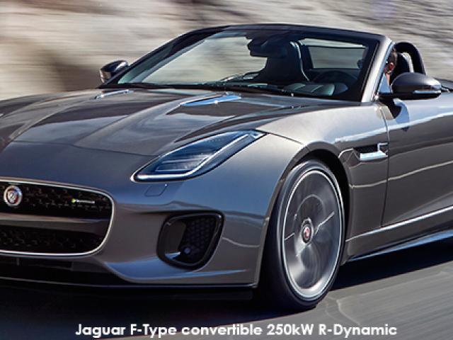 Jaguar F-Type convertible 250kW R-Dynamic