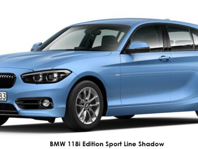 BMW 1 Series 118i 5-door Edition Sport Line Shadow auto