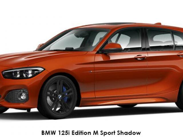 BMW 1 Series 120d 5-door Edition M Sport Shadow auto