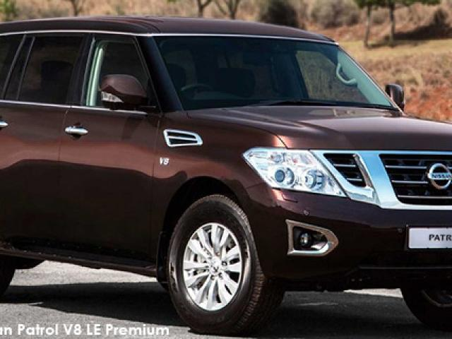 Nissan Patrol 5.6 V8 LE Premium 4WD