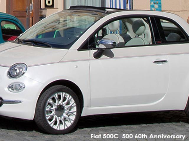 Fiat 500 500C TwinAir 500 60th Anniversary auto