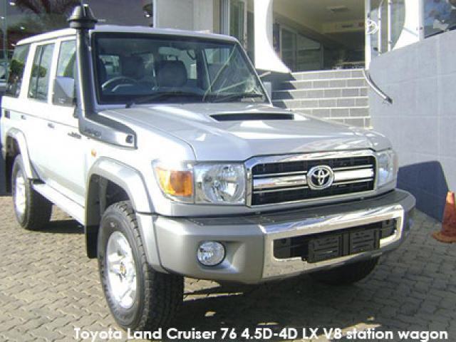Toyota Land Cruiser 76 Land Cruiser 76 4.5D-4D LX V8 station wagon