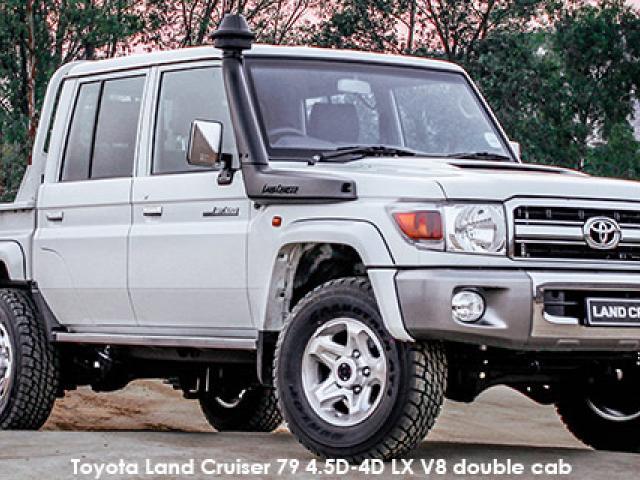 Toyota Land Cruiser 79 Land Cruiser 79 4.5D-4D LX V8 double cab