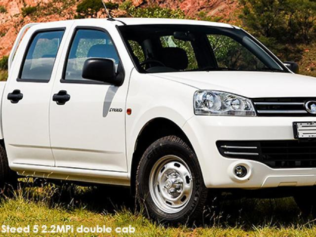 GWM Steed 5 2.2MPi double cab