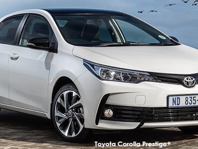 Toyota Corolla 1.6 Prestige+ auto