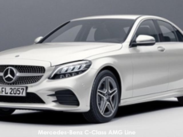 Mercedes-Benz C-Class C200 AMG Line auto