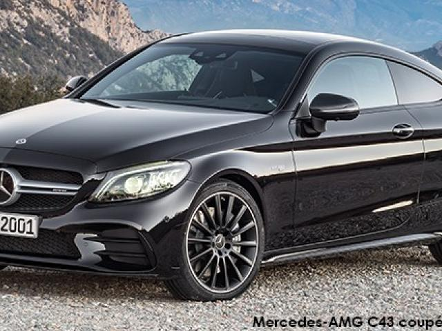 Mercedes-AMG C-Class C43 coupe 4Matic