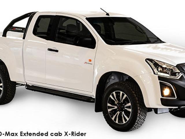 Isuzu D-Max 2.5 TD double cab 4x4 X-Rider