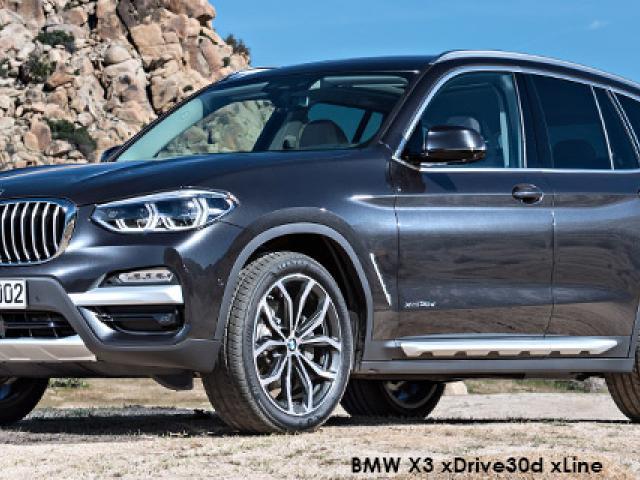 BMW X3 sDrive18d Luxury Line