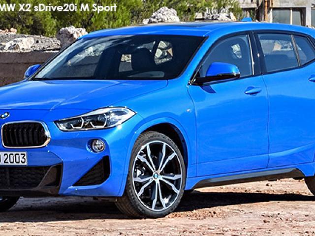 BMW X2 sDrive20d M Sport auto