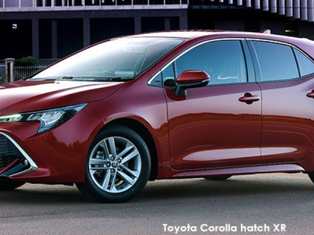 Toyota Corolla hatch 1.2T XR
