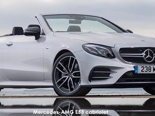 Mercedes-AMG E-Class E53 cabriolet 4Matic+