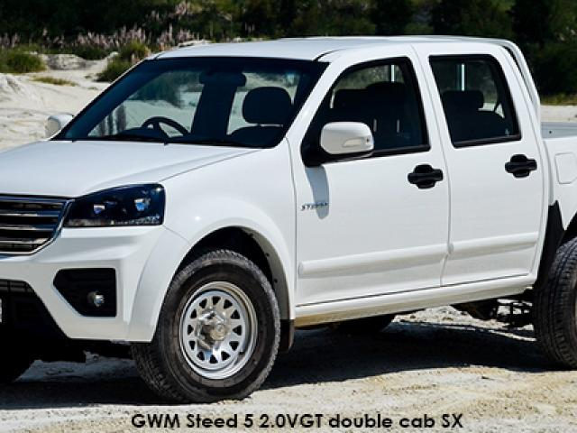 GWM Steed 5 2.0VGT double cab 4x4 SX
