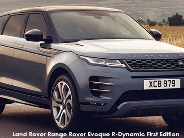 Land Rover Range Rover Evoque P250 R-Dynamic SE First Edition
