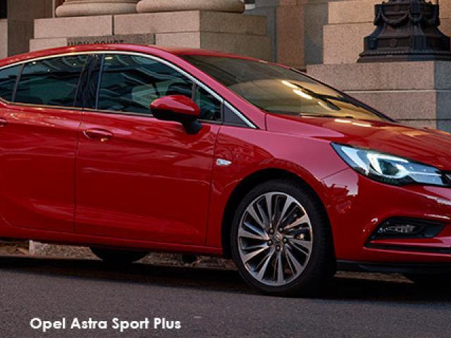 Opel Astra hatch 1.6T Sport auto