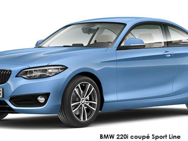 BMW 2 Series 220i coupe Sport Line sports-auto