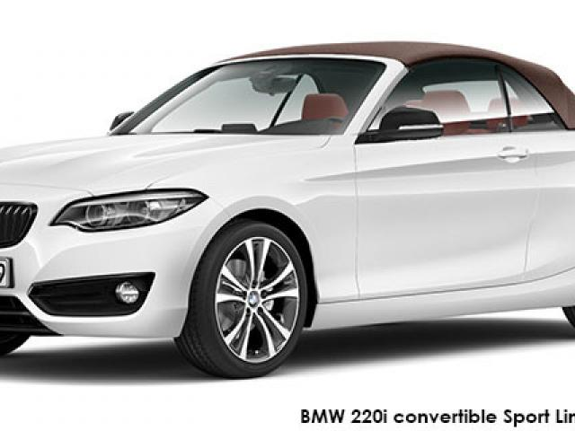 BMW 2 Series 220i convertible Sport Line sports-auto