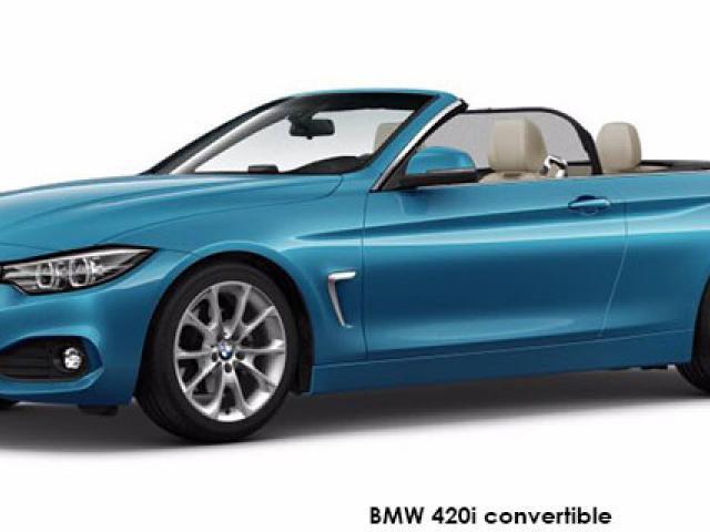 BMW 4 Series 420i convertible sports-auto