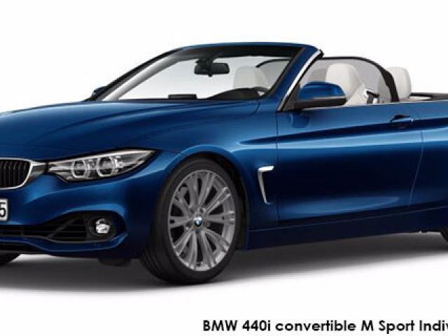 BMW 4 Series 440i convertible M Sport