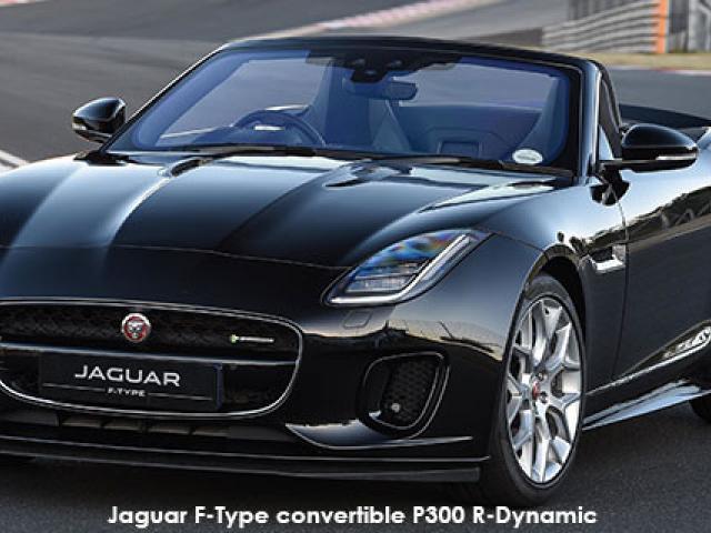 Jaguar F-Type convertible P300 R-Dynamic