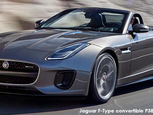 Jaguar F-Type convertible P340 auto