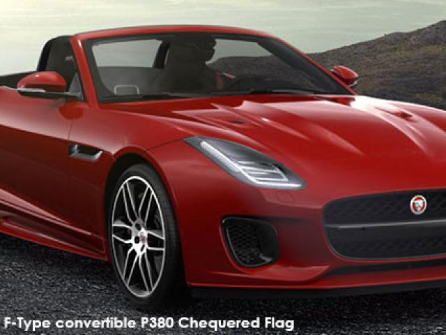 Jaguar F-Type convertible P380 AWD Chequered Flag