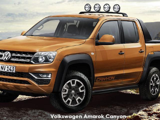 Volkswagen Amarok 3.0 V6 TDI double cab Canyon 4Motion