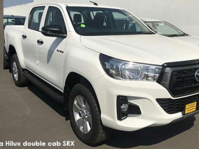 Toyota Hilux 2.4GD-6 double cab 4x4 SRX auto