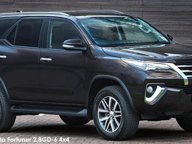 Toyota Fortuner 2.8GD-6 4x4 auto