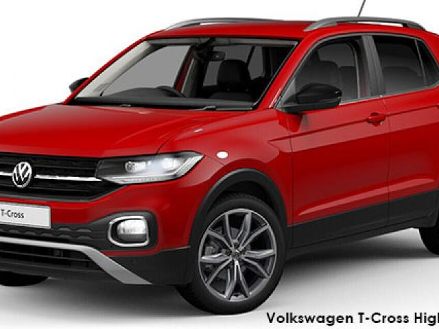 Volkswagen T-Cross 1.0TSI 85kW Highline