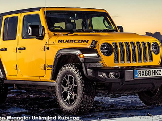 Jeep Wrangler Unlimited 3.6 Rubicon