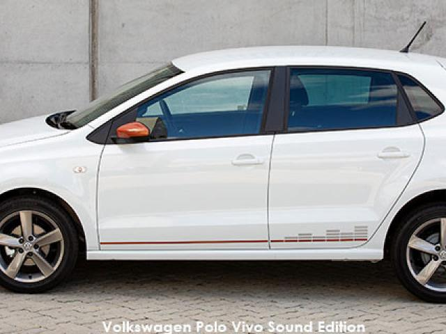 Volkswagen Polo Vivo hatch 1.4 Comfortline Sound Edition