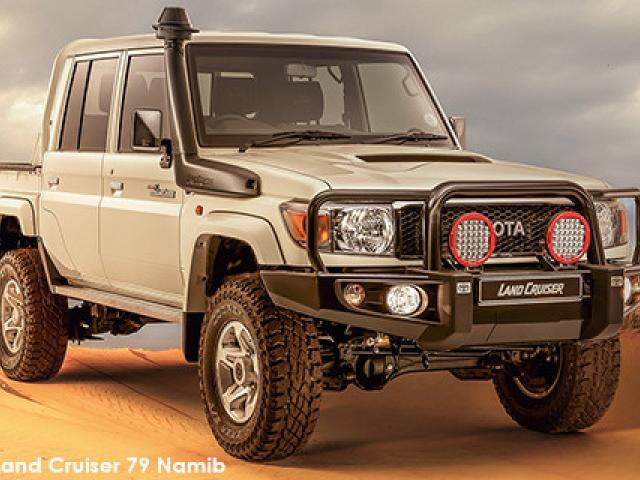 Toyota Land Cruiser 79 Land Cruiser 79 4.5D-4D LX V8 double cab Namib