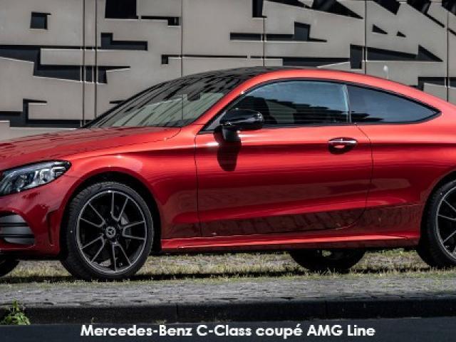 Mercedes-Benz C-Class C220d coupe AMG Line