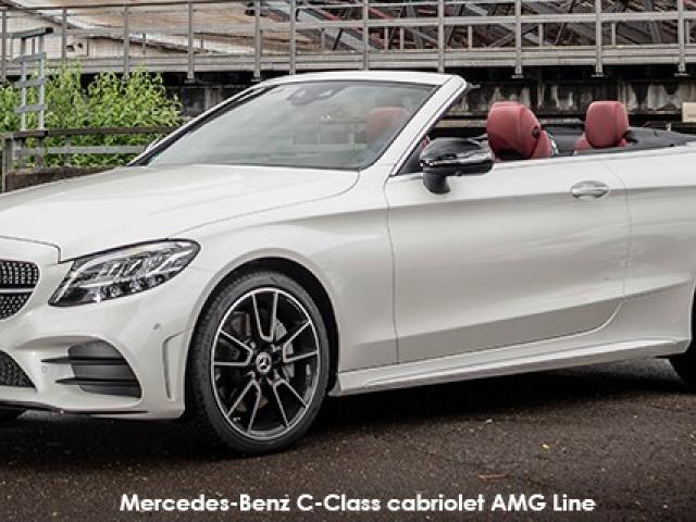 Mercedes-Benz C-Class C220d cabriolet AMG Line
