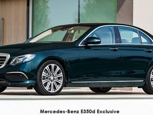 Mercedes-Benz E-Class E220d Exclusive