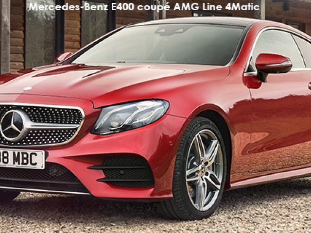 Mercedes-Benz E-Class E220d coupe AMG Line