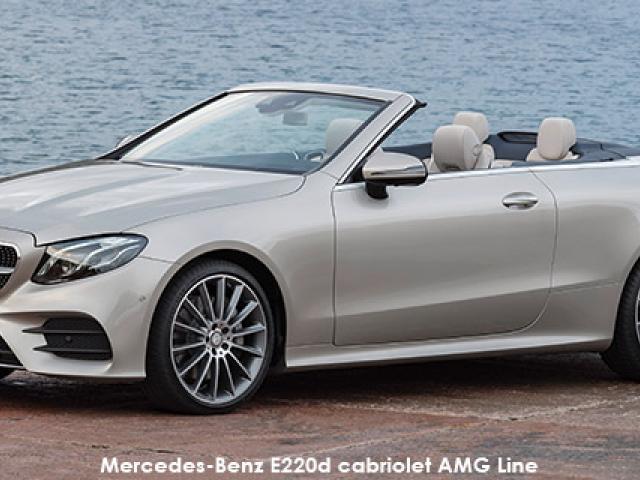 Mercedes-Benz E-Class E220d cabriolet AMG Line