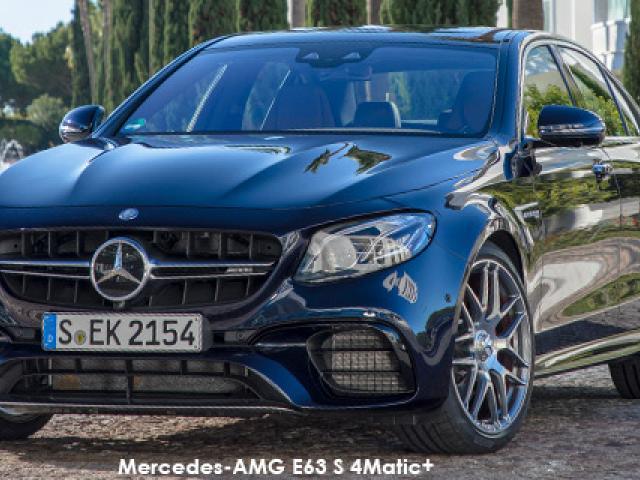 Mercedes-AMG E-Class E63 S 4Matic+