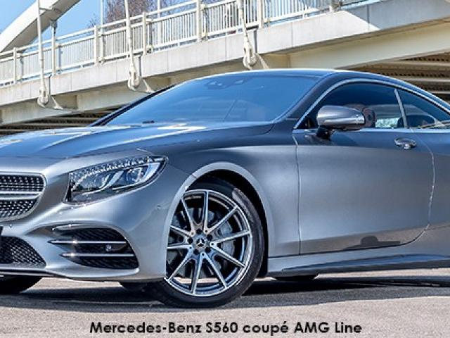 Mercedes-Benz S-Class S560 coupe AMG Line