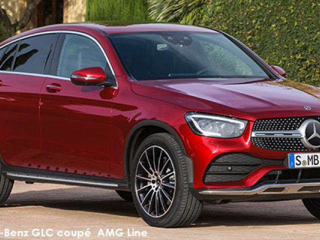 Mercedes-Benz GLC GLC300d coupe 4Matic AMG Line