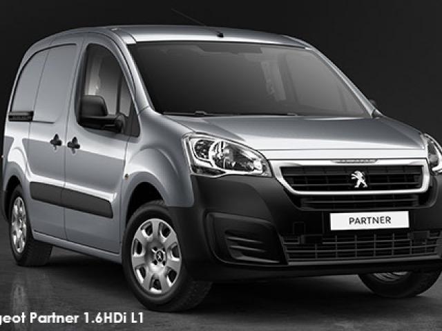 Peugeot Partner 1.6HDi L1 panel van